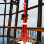 TOKYO, JAPAN - NOVEMBER 25: Tokyo Tower miniature in Tokyo, Japa — Stock Photo