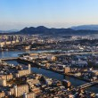 Stock Photo: Fukuokfrom aerial view
