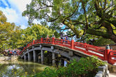 The Bridge at Dazaifu Tenmangu in Fukuoka — Zdjęcie stockowe