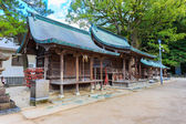 Small wood shrines in Dazaifu Tenmangu area — Stock fotografie