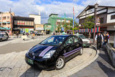 Taxi at Dazaifu Tenmangu — Foto de Stock