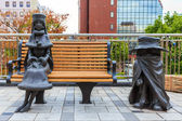 Galaxy Express 999 Sculptures in Kitakyushu, Japan — Stockfoto