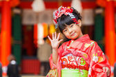 """Traditional """"Shichi-go-san"""" Ceremony in Japan — Stock Photo"""