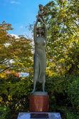Hymn to life Sculpture at Nagasaki Peace Park — Stock Photo