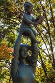 """""""Hymn to Life"""" Sculpture at Nagasaki Peace Park — Stock Photo"""