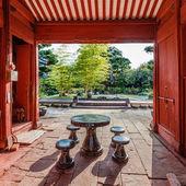 Templo kofukuji em nagasaki — Fotografia Stock