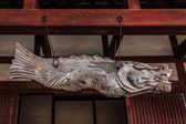 Gyoban (Fish Gong) at Kofukuji Temple in Nagasaki — Stock Photo