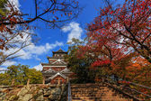 Hiroshima Castle in Autumn — Stock Photo