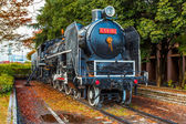 A Steam locomotive at Children's Museum in Hiroshima — Stock Photo