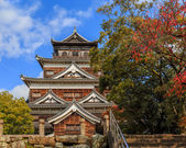 Hiroshima castle in Hiroshima — Stock Photo