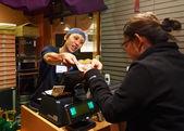 Japanese Ramen Shopkeeper — Stok fotoğraf