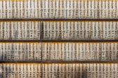 Wooden Tablets in Nara Japan — Foto Stock