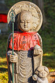 Jizo Bodhisattva at Kofukuji Temple in Nara — Stock Photo