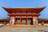 чу mon ворота в todaiji храм в нара — Стоковое фото
