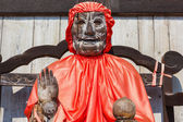 Binzuru - The Healing Buddha at Todaiji in nara — Stock Photo