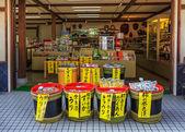 Souvenir Shop in Nara — Stock Photo