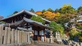 Nigatsu-do Hall of Todaiji complex  in Nara — Stock Photo