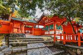 Kasaga pařízek svatyně v nara — Stock fotografie