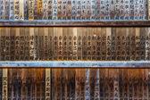 Wooden Tablets — Foto de Stock