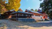 Tamukeyama Hachimangu in Nara — Stock Photo