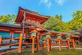 Святилище Касуга Тайся в Нара — Стоковое фото