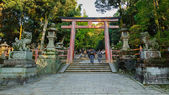Santuario di kasuga taisha a nara — Foto Stock