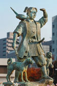 Momotaro - the Icon of Okayama City — Stock Photo