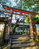 Torii at Kasuga Taisha Shrine in Nara — Stock Photo