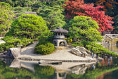 Okayama, Japan - November 17 2013: Kenroku-en garden built in 17 — Foto Stock