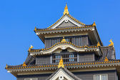 Okayama Castle or Crow Castle in Okayama — Stock Photo