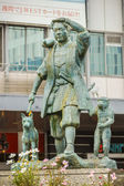 Momotaro Statue in Okayama — Stock Photo