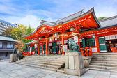 Ikuta-jinja Shrine in Kobe — Stock Photo