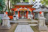 Small Inari shrine in Ikuata jinja Shrine in Kobe — Foto Stock