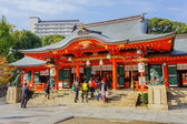 Ikuta-jinja Shrine in Kobe — Stock Photo