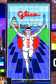Glico Man billboard in Osaka — Stock Photo