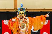 Gagaku play in Kyoto — Stock Photo