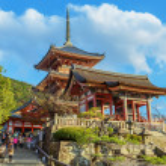 Постер, плакат: Kiyomize dera Temple in Kyoto