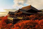 Kiyomize-dera templet i kyoto — Stockfoto