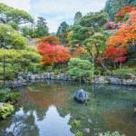 Chisen-kaiyushiki, Pond-stroll garden in Ginkaku-ji temple in Kyoto — Stock Photo #42041611