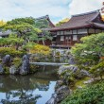 Ginkakuji - The Silver Pavilion Temple in Kyoto — Stock Photo #42042009