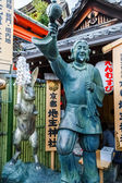 Okuninushino-mikoto - God of love and good matches at Jishu-jinja shrine in Kyoto — Zdjęcie stockowe