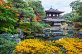 Ginkakuji - The Silver Pavilion Temple in Kyoto — Stock Photo