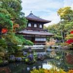 Ginkaku-ji - The Silver Pavilion Temple in Kyoto — Stock Photo