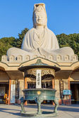 Chinese Goddess at Ryozen Kannon in Kyoto — Stock Photo