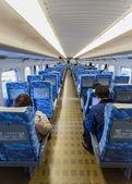 Interior of Hikari Shinkansen — Stock Photo