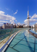 Nagoya T.V Tower in Japan — Stock Photo