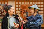 Japanese vendors at Nagoya Castle Fair — Stockfoto