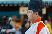 Japanese priests (Onmyoji) — Stock Photo