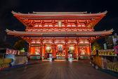 Hozomon (Treasure-House Gate) at Senso-ji Temple in Asakusa area — ストック写真
