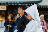 Japanese Couple in Tokyo — Stock Photo